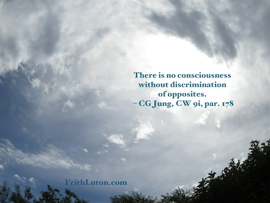 Consciousness-opposites